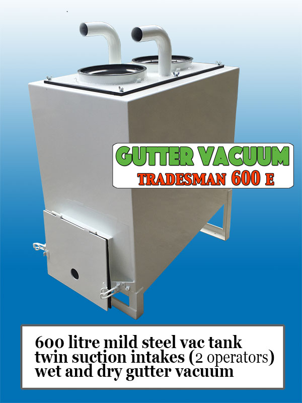 Gutter-Vacuum-Tradesman-600-E-tank-and-filters